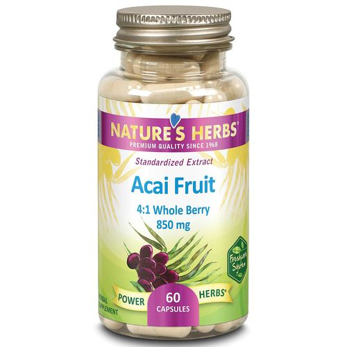 Power Herbs Acai Fruit Standardized Extract
