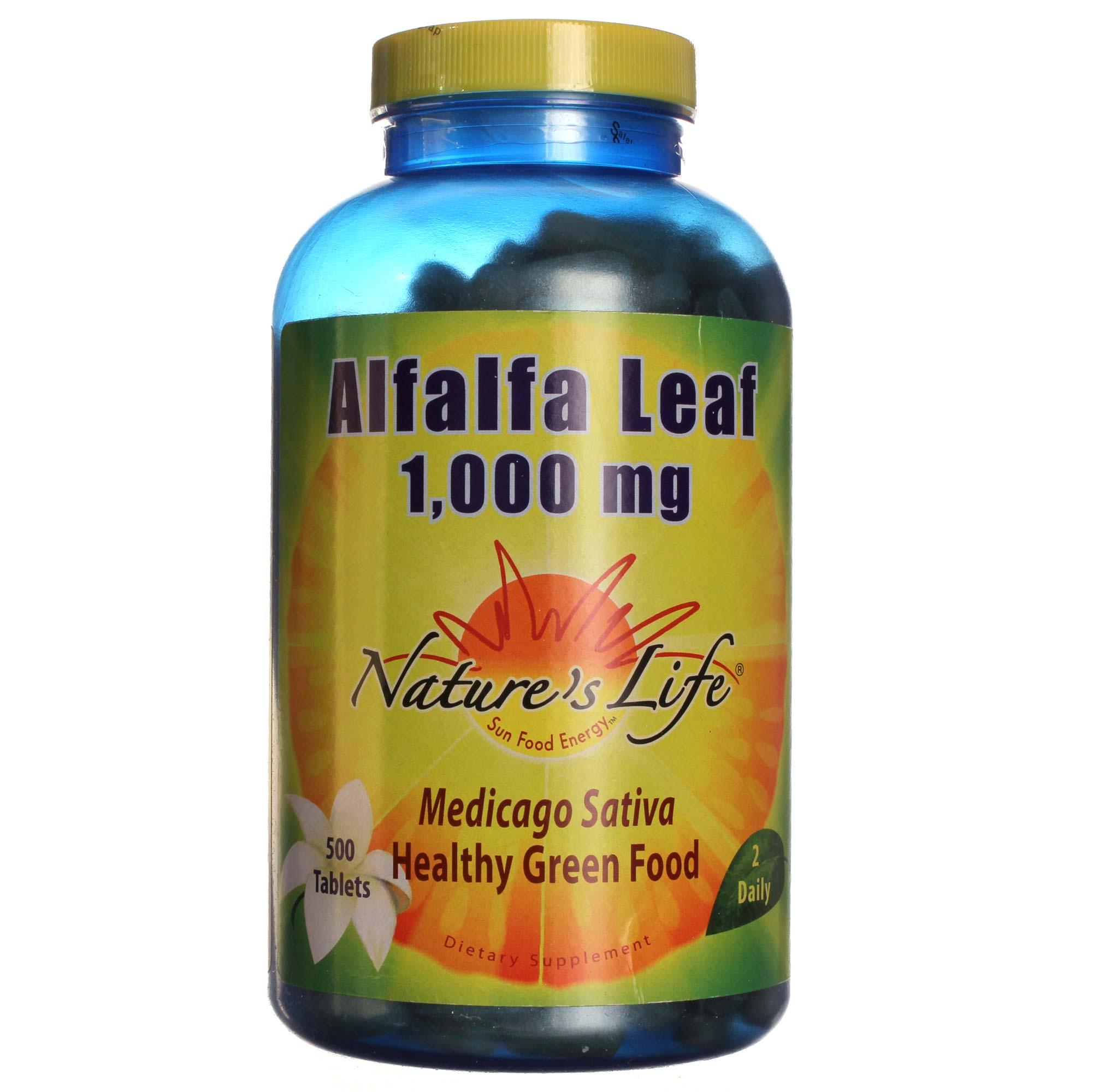 Natures Life Alfalfa Organic