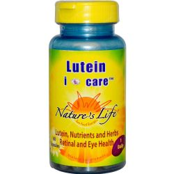 Nature's Life Lutein i-care 6 mg