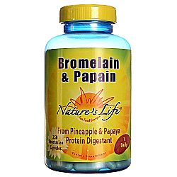 Nature's Life Bromelain and Papain