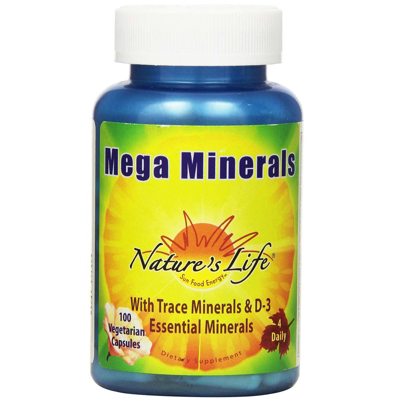 Nature S Life Mega Minerals Iron Free