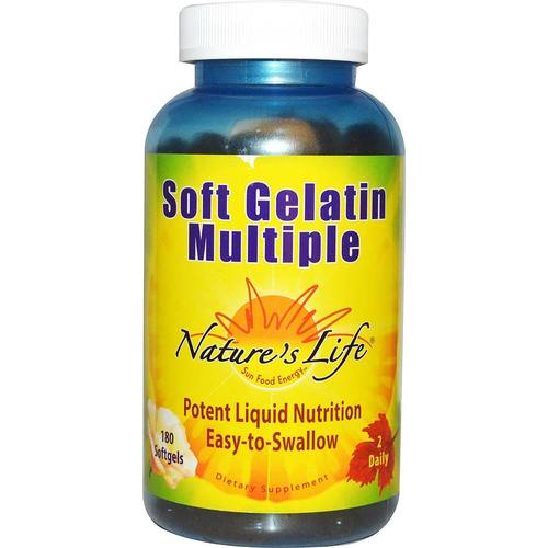 Soft Gelatin Multiple