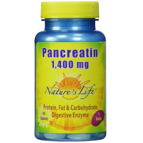 Pancreatin 1-400 mg