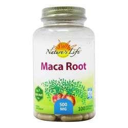 Nature's Life Maca Root 500 mg