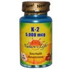 Nature's Life K-2 5,000 mcg
