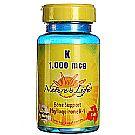 Nature's Life K 1000 mcg