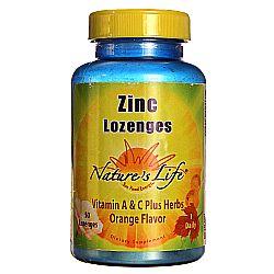 Nature's Life Zinc Lozenges 12.5 mg
