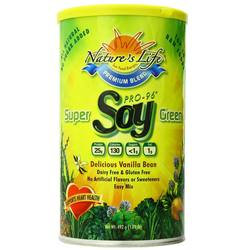 Nature's Life Super Green Pro-96 Soy Protein