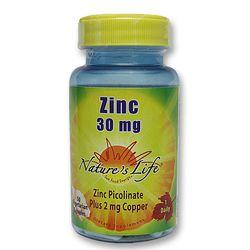 Nature's Life Zinc 30 mg