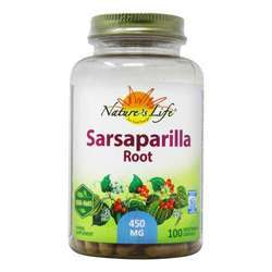 Nature's Life Sarsaparilla Root 450 mg