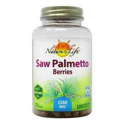 Nature's Life Saw Palmetto Berries 1160 mg