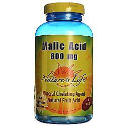 Nature's Life Malic Acid 800 mg