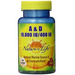 Nature's Life A  D 10-000 IU400 IU
