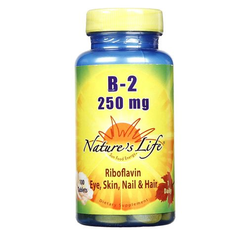 Nature's Life B-2 250 mg  - 100 Tablets - 040647001220_1.jpg