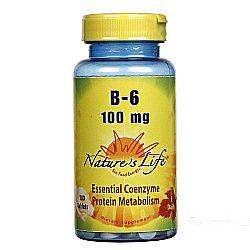 Nature's Life B-6 100 mg