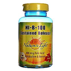 Nature's Life Hi-B-100 Sustained Release