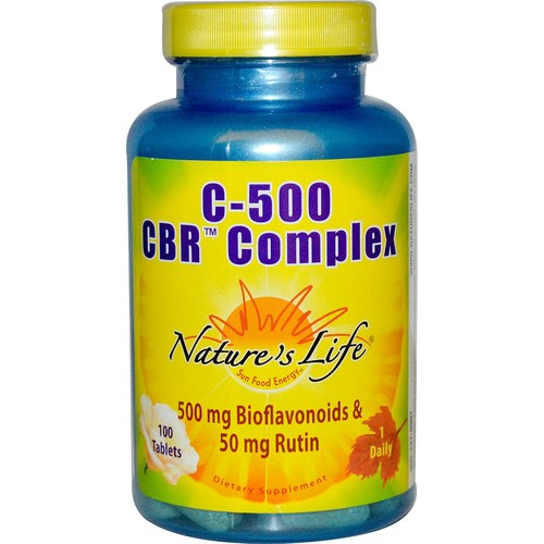 Nature's Life C-500 CBR Complex - 100 Tablets - 50436.jpg