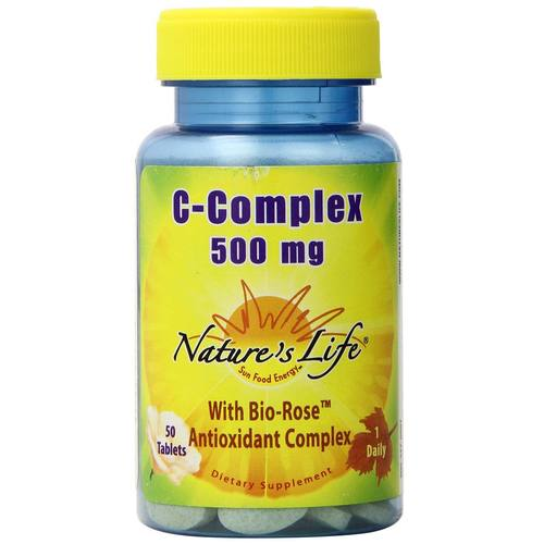 Nature's Life C-Complex 500 mg - 50 Tablets - 50441_01.jpg