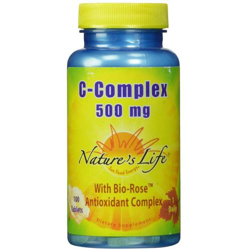 Nature's Life C-Complex  - 500 mg - 100 Tablets - 50442_01.jpg