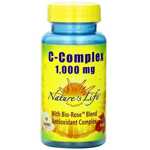 Nature's Life Vitamin C-Complex  - 1,000 mg - 50 Tablets - 50444_01.jpg