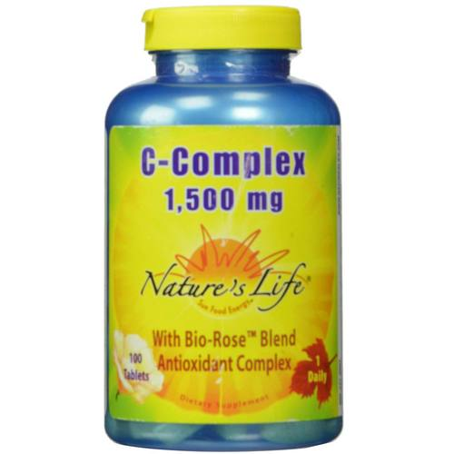 Nature's Life Vitamin C-Complex - 1,500 mg - 100 Tablets - 50449_01.jpg