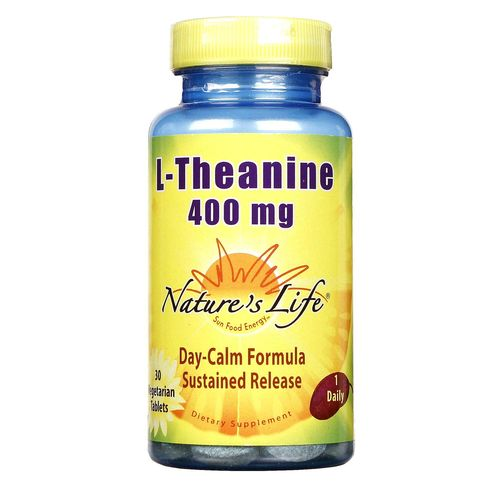 Nature's Life L-Theanine 400 mg  - 30 Tablets - 040647182516_1.jpg