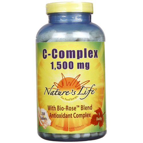Nature's Life C-Complex 1-500 mg - 250 Tablets - 040647001831_1.jpg