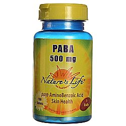 Nature's Life PABA 500 mg