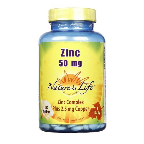 Nature's Life Zinc - 50 mg - 250 Tablets - 040647002982_1.jpg
