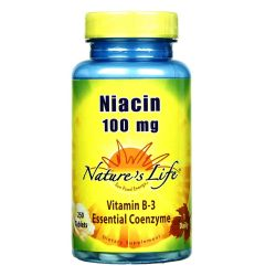 Nature's Life Niacin 100 mg