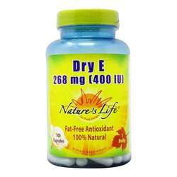 Nature's Life Dry E 268 mg (400 IU)