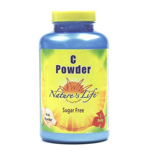 Nature's Life C Powder Unflavored - 8 oz - 040647003743_1.jpg