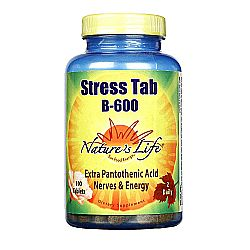 Nature's Life Stress Tab B-600