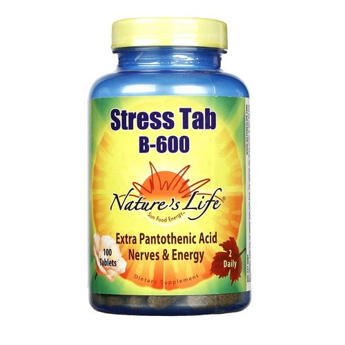 Nature's Life Stress Tab B-600 - 100 Tablets - 040647003958_1.jpg