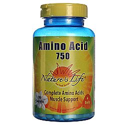 Nature's Life Amino Acid 750