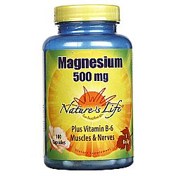 Nature's Life Magnesium 500 mg