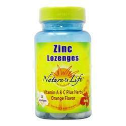 Nature's Life Zinc Lozenges 12.5 mg