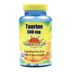 Nature's Life Taurine 500 mg