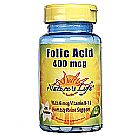 Nature's Life Folic Acid 400 mcg