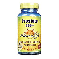 Nature's Life Prostate 600+