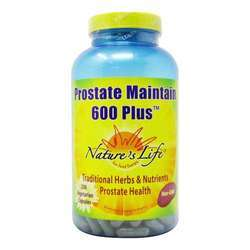 Nature's Life Prostate 600 Plus