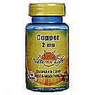 Nature's Life Copper 2 mg
