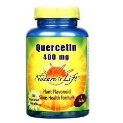 Nature's Life Quercetin 400 mg