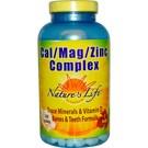 Nature's Life Cal Mag Zinc Complex Tabs