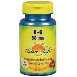 Nature's Life B-6 50 mg