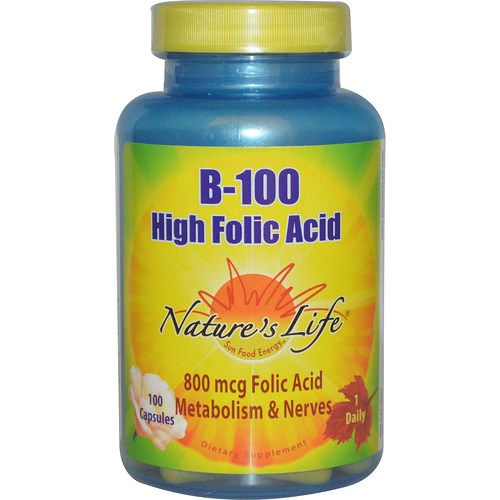 B-100 High Folic Acid 800 mcg