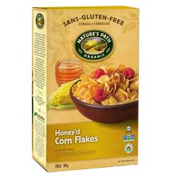 Natures Path Honey'd Corn Flakes