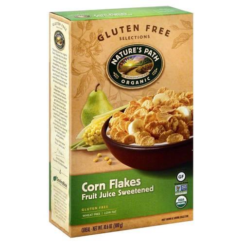 Natures Path Organic Corn Flakes - 10 6 oz