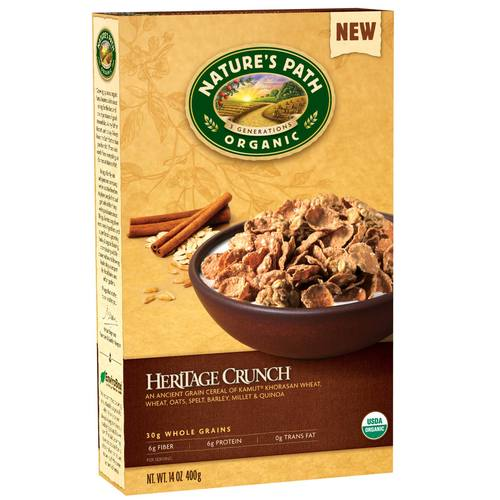 Natures Path Organic Heritage Crunch  - 14 oz - 61447.jpg