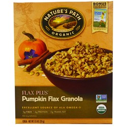 Natures Path Pumpkin Flax Plus Granola